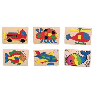 Preschool Puzzles - Set of 6