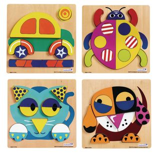 Excellerations® Creative Thinker Puzzles – Set of 4