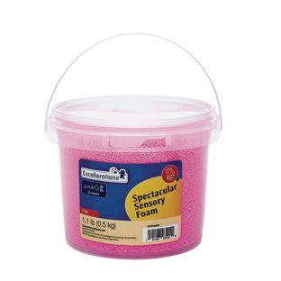 Excellerations® Spectacular Sensory Foam - Pink, 1.1 lb.