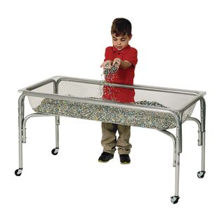 """Regular Height Clear Sand and Water Table- 24""""H"""