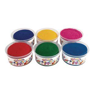Colorations® Glitter Dough, 1 lb. each - 6 lbs.