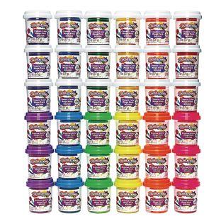 Colorations® 36 Pots of Dough, 12 Colors, 6 Scented