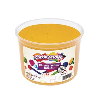 Colorations® Classic Colors Best Value Dough - Yellow - 3 lbs.