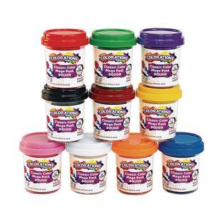 Colorations Classic 10 Colors of Dough, 2 oz each