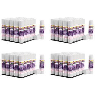 Colorations® Washable Premium White Glue Sticks, Set of 120, 0.32 oz ea