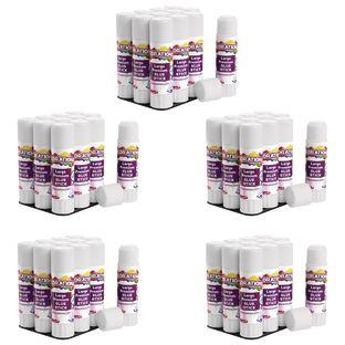 Colorations® Premium Washable White Glue Sticks in a Tray, set of 60, 0.88 oz ea