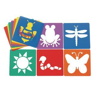 Colorations® Garden Stencils - Set of 12 Designs