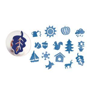 Colorations® Easy-Grip Stampers, Seasonal - Set of 14