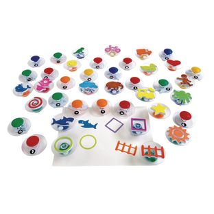 Colorations® Easy Grip Stampers Mega Pack - 40 Pieces