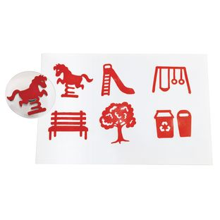 Colorations® Jumbo Easy Grip Park Stampers