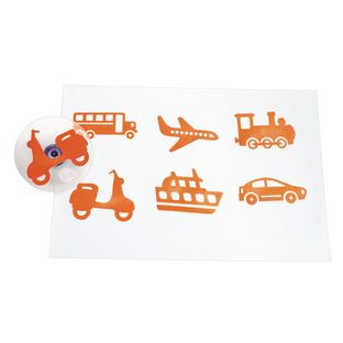 Colorations® Jumbo Easy Grip Transportation Stampers