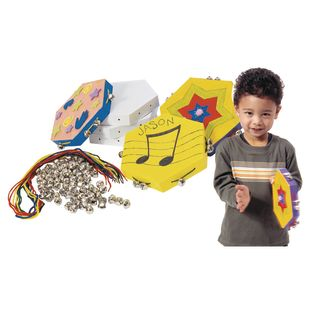 Colorations[r] Make Your Own Tambourine - Kit for 12