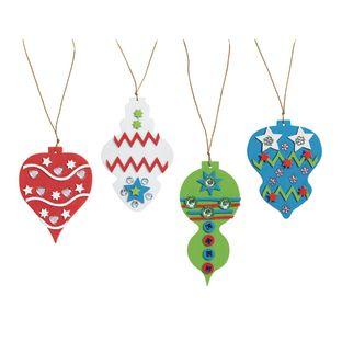 Colorations[r] Fancy Foam Ornaments - Kit for 12