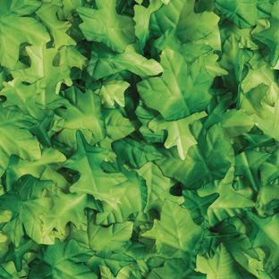 Colorations Fabric Green Leaves - set of 200