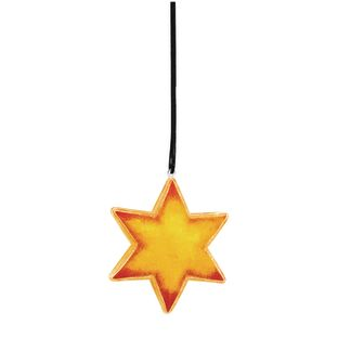 Colorations[r] Clear Star Ornaments - Set of 12