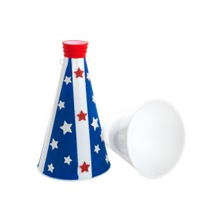 Colorations® Decorate Your Own Megaphone, Set of 10