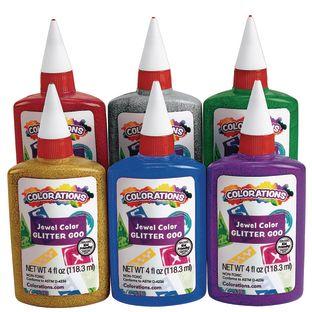 Colorations® Glitter Glue - Set of 6