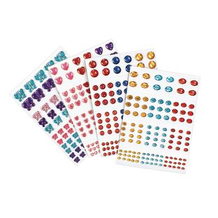 Colorations[r] Peel and Stick Gems - 442 Pieces