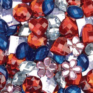 Colorations Rhinestones, Set of 100