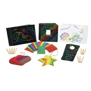 Colorations[r] Scratch Designs Super Classroom Pack