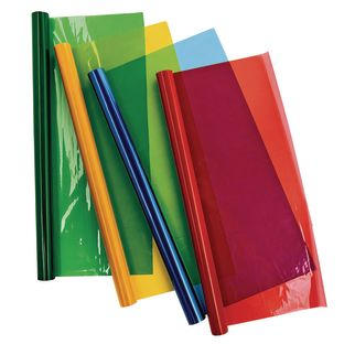 Colorations Cellophane Rolls Set of 4 Colors