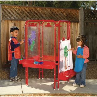 Colorations[r] 4-Way Indoor/Outdoor Acrylic Panel Easel