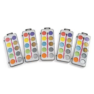 Colorations[r] Shimmery Washable Watercolors- Set of 5