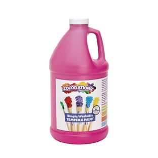 Colorations® 1/2 Gallon Magenta Simply Washable Tempera Paint
