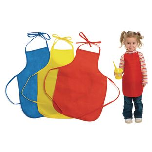 Colorations[r] Lightweight Paint Aprons - Set of 12