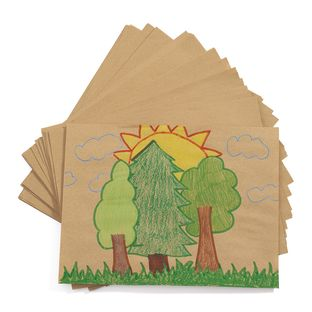 """Natural Recycled 9"""" x 12"""" Drawing Paper, 500 Sheets"""