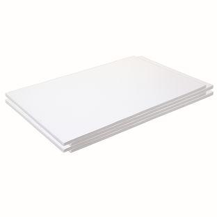 "Construction Paper, White, 12"" x 18"", 200 Sheets"