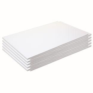 "Construction Paper, White, 12"" x 18"", 500 Sheets"