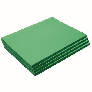 """Heavyweight Holiday Green Construction Paper, 9"""" x 12"""", 200 Sheets"""