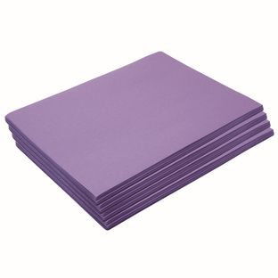 """Heavyweight Violet Construction Paper, 9"""" x 12"""", 200 Sheets"""