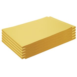 """Construction Paper, Yellow, 12"""" x 18"""", 500 Sheets"""