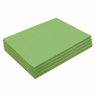 """Bright Green 9"""" x 12"""" Heavyweight Construction Paper Pack 200 Sheets"""