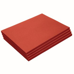 """Heavyweight Red Construction Paper, 9"""" x 12"""", 200 Sheets"""