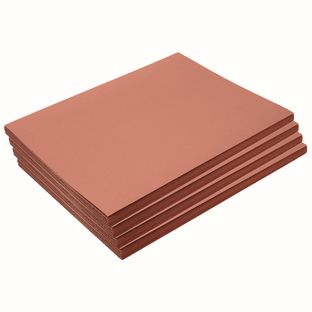 """Heavyweight Brown Construction Paper, 9"""" x 12"""", 200 Sheets"""