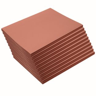 """Brown 9"""" x 12"""" Heavyweight Construction Paper Pack 500 Sheets"""