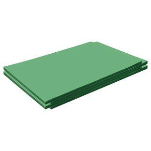 "Construction Paper, Holiday Green, 12"" x 18"", 200 Sheets"