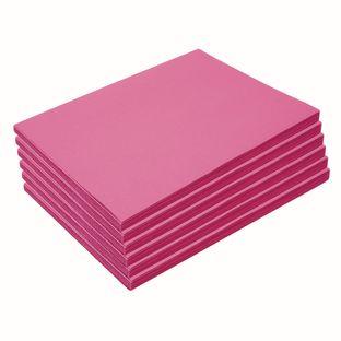 "Heavyweight Hot Pink Construction Paper, 9"" x 12"", 300 Sheets"