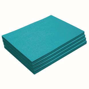 """Heavyweight Turquoise Construction Paper, 9"""" x 12"""", 200 Sheets"""