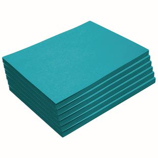 """Heavyweight Turquoise Construction Paper, 9"""" x 12"""", 300 Sheets"""