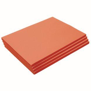 "Heavyweight Orange Construction Paper, 9"" x 12"", 200 Sheets"