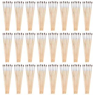 Colorations Fine Paint Brushes EA 6 BRUSHES, 24 SETS