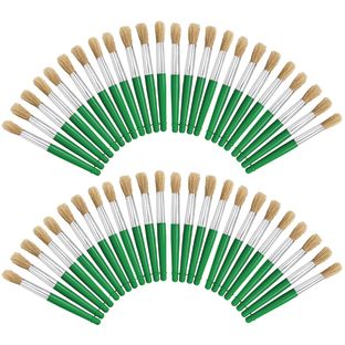 Colorations® Jumbo Chubby Paint Brushes EA 4 Brushes, Set of 12