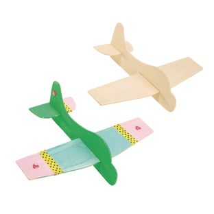 Colorations® Decorate Your Own Jet Plane, 6 PLANES