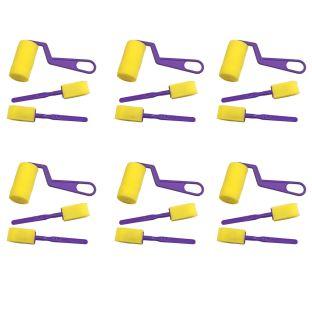 Colorations® Paint Applicators Starter Set, 6 Sets