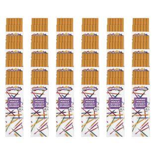 Primary Pencils W/O Erasers, 24 Sets