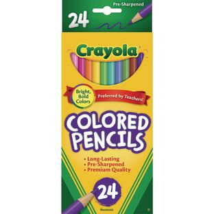 Crayola® Colored Pencils - Set of 24